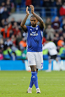 Leandro Bacuna of Cardiff City in action during the Sky Bet Championship match between Cardiff City and Swansea City at the Cardiff City Stadium, Cardiff, Wales, UK. Sunday 12 January 2020