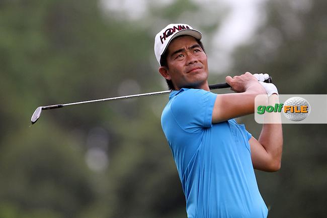 Liang Wen-chong (CHN) on the 1st during Round 3 of the 2013 Maybank Malaysian Open, Kuala Lumpur Golf and Country Club, Kuala Lumpur, Malaysia 23/3/13...(Photo Jenny Matthews/www.golffile.ie)