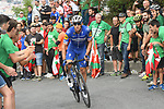 Zdenek Stybar (CZE) Deceuninck-Quick Step on the final climb during Stage 12 of La Vuelta 2019 running 171.4km from Circuito de Navarra to Bilbao, Spain. 5th September 2019.<br /> Picture: Colin Flockton | Cyclefile<br /> <br /> All photos usage must carry mandatory copyright credit (© Cyclefile | Colin Flockton)