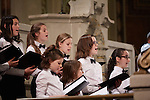 20.12.2015, Berlin Synagoge Rykestraße. Grand Final Concert of all choirs at the Louis Lewandowsky Festival for synagogal music. Children and Youth choir Synagogue Pestalozzistraße