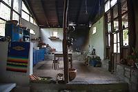 The Kitchen at the Hacienda San Lucas, Ruinas Copan, Honduras