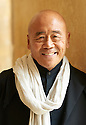 Ken Hom, Chinese chef and writer at The Blenheim Palace Literary Festival in Woodstock, Oxfordshire CREDIT Geraint Lewis