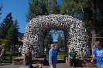 Antler Arch, Jackson, Wyoming