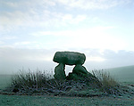 The Devils Den Cromlech , Clatford Bottom, Nr Marlborough, Wiltshire. England. Celtic Britain published by Orion.