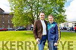 Labour candidate Ben Slimm Tralee and Joe Horgan Kenmare who registered to get married at Killarney Registary office on Wednesday