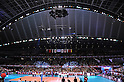 General view of gymnasium, .JUNE 2, 2012 - Volleyball : FIVB the Men's World Olympic Qualification Tournament for the London Olympics 2012, between Japan 3-0 Venezuela at Tokyo Metropolitan Gymnasium, Tokyo, Japan. (Photo by Jun Tsukida/AFLO SPORT) [0003].