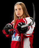 MORDEN, MB– Nov 4 2019: Team Ontario Red during the 2019 National Women's Under-18 Championship at the Access Event Centre in Morden, Manitoba, Canada. (Photo by Matthew Murnaghan/Hockey Canada Images)