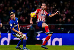 Diego Roberto Godin Leal of Atletico de Madrid in action during the La Liga 2018-19 match between Atletico de Madrid and Athletic de Bilbao at Wanda Metropolitano, on November 10 2018 in Madrid, Spain. Photo by Diego Gouto / Power Sport Images