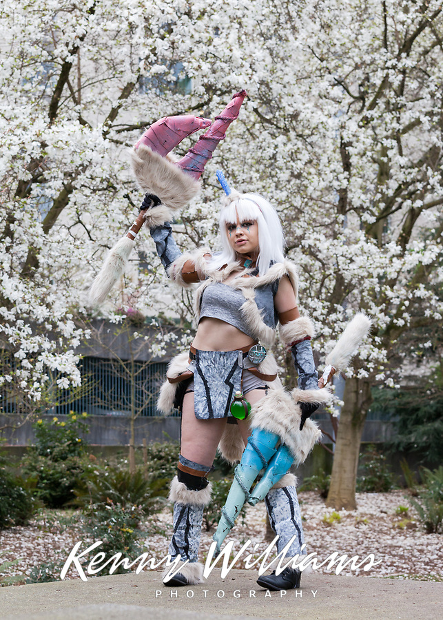 Lupus Cosplay, Sakura Con 2018, Seattle, Washington, USA.