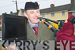 Piper: King of the pipers Danny Houlihan, Ballybunion, who has just launched his own website www.kingoftehpipers.com..