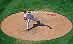 9 July 2017: Washington Nationals pitcher Enny Romero on the mound against the Atlanta Braves at Nationals Park in Washington, DC. The Nationals defeated the Atlanta Braves to split their 4-game series going into the All-Star break. Mandatory Credit: Ed Wolfstein Photo *** RAW (NEF) Image File Available ***