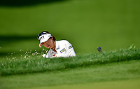 Mi Jung Our, of Korea plays a shot from a bunker on the ninth hole during the third round of the ANA Inspiration at the Mission Hills Country Club in Palm Desert, California, USA. 3/31/18.<br /> <br /> Picture: Golffile | Bruce Sherwood<br /> <br /> <br /> All photo usage must carry mandatory copyright credit (&copy; Golffile | Bruce Sherwood)during the second round of the ANA Inspiration at the Mission Hills Country Club in Palm Desert, California, USA. 3/31/18.<br /> <br /> Picture: Golffile | Bruce Sherwood<br /> <br /> <br /> All photo usage must carry mandatory copyright credit (&copy; Golffile | Bruce Sherwood)