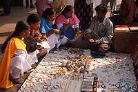 Indien, Kalkutta (Kolkata), Strassenhändler.