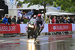 Bauke Mollema (NED) Trek-Segafredo in action during Stage 1, a 14km individual time trial around Dusseldorf, of the 104th edition of the Tour de France 2017, Dusseldorf, Germany. 1st July 2017.<br /> Picture: Eoin Clarke | Cyclefile<br /> <br /> <br /> All photos usage must carry mandatory copyright credit (&copy; Cyclefile | Eoin Clarke)