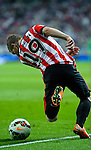 Ath Bilbao´s  forward Iker Muniain during the Spanish league football match Real Madrid vs Athletic Club Bilbao at the Santiago Bernabeu stadium in Madrid on October 5, 2014. Daniel Calleja/Photocall3000
