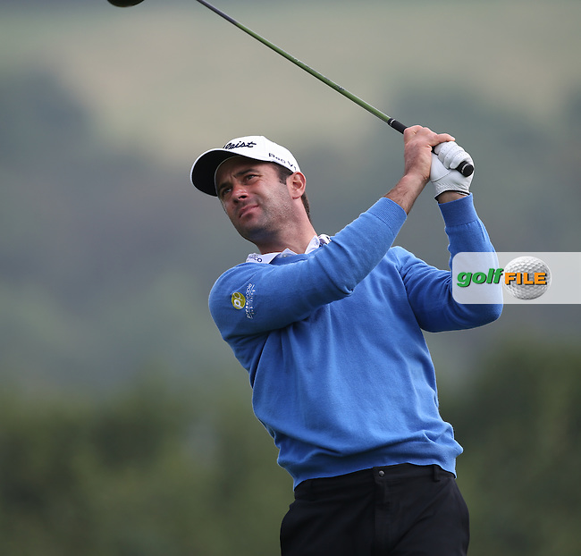 Ricardo Santos (POR) during Round Three of the ISPS Handa Wales Open 2014 from the Celtic Manor Resort, Newport, South Wales. Picture:  David Lloyd / www.golffile.ie