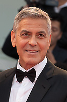 "George Clooney at the ""Suburbicon"" premiere, 74th Venice Film Festival in Italy on 2 September 2017.<br /> <br /> Photo: Kristina Afanasyeva/Featureflash/SilverHub<br /> 0208 004 5359<br /> sales@silverhubmedia.com"