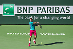 March 19, 2017: Stan Wawrinka, SUI, lost to Roger Federer, SUI, 4-6, 5-7 in the finals at the PNB Paribas Open being played at the Indian Wells Tennis Garden in Indian Wells, California.  ©Mal Taam/Tennisclix