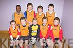 St. Brendans Park F.C. Tralee B Team.F l-r: Shane McGinley, Eoin Graney, Killian Moran, Kevan (not Kevin)Foley, Kevin Johnson Horgan..B l-r: Emmanuel Abubakar, Robbie Dinan, Donagh O'Brien, Kieran Dwyer.