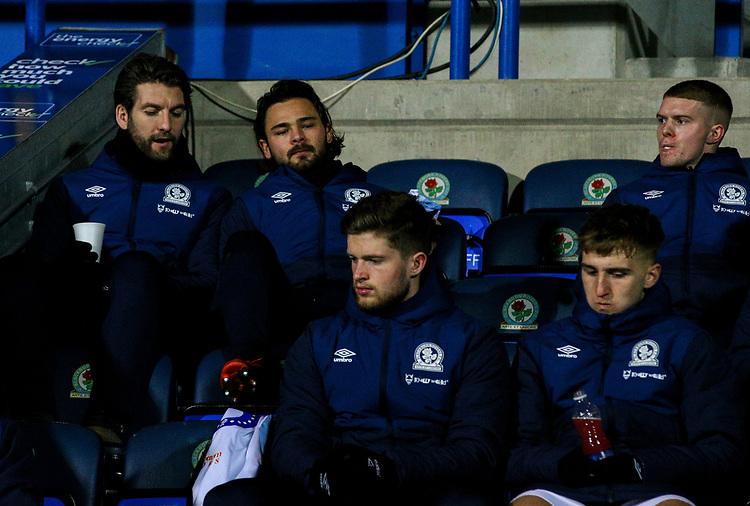 Blackburn Rovers' Bradley Dack takes his place on the bench<br /> <br /> Photographer Alex Dodd/CameraSport<br /> <br /> Emirates FA Cup Third Round Replay - Blackburn Rovers v Newcastle United - Tuesday 15th January 2019 - Ewood Park - Blackburn<br />  <br /> World Copyright © 2019 CameraSport. All rights reserved. 43 Linden Ave. Countesthorpe. Leicester. England. LE8 5PG - Tel: +44 (0) 116 277 4147 - admin@camerasport.com - www.camerasport.com