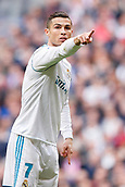 9th December 2017, Santiago Bernabeu, Madrid, Spain; La Liga football, Real Madrid versus Sevilla; Cristiano Ronaldo  of Real Madrid in action