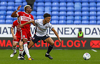 Bolton Wanderers' Antonee Robinson battles with Middlesbrough's Adama Traore<br /> <br /> Photographer Juel Miah/CameraSport<br /> <br /> The EFL Sky Bet Championship - Bolton Wanderers v Middlesbrough - Saturday 9th September 2017 - Macron Stadium - Bolton<br /> <br /> World Copyright &copy; 2017 CameraSport. All rights reserved. 43 Linden Ave. Countesthorpe. Leicester. England. LE8 5PG - Tel: +44 (0) 116 277 4147 - admin@camerasport.com - www.camerasport.com