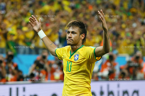 Neymar (BRA), <br /> JUNE 12, 2014 - Football /Soccer : <br /> 2014 FIFA World Cup Brazil <br /> Group Match -Group A- <br /> between Brazil 3-1 Croatia <br /> at Arena de Sao Paulo, Sao Paulo, Brazil. <br /> (Photo by YUTAKA/AFLO SPORT) [1040]