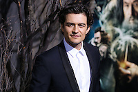 "HOLLYWOOD, CA - DECEMBER 02: Orlando Bloom arriving at the Los Angeles Premiere Of Warner Bros' ""The Hobbit: The Desolation Of Smaug"" held at Dolby Theatre on December 2, 2013 in Hollywood, California. (Photo by Xavier Collin/Celebrity Monitor)"