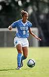 Kacey White, of UNC, on Sunday September 18th, 2005 at Duke University's Koskinen Stadium in Durham, North Carolina. The University of North Carolina Tarheels defeated the University of Alabama-Birmingham Blazers 4-0 during the Duke adidas Classic soccer tournament.