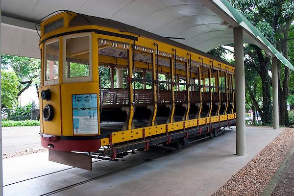 Belo Horzonte_MG, Brasil. ..Bonde no  museu Abilio Barreto em Belo Horizonte...The tram in the Abilio Barreto museum in Belo Horizonte...Foto: LEO DRUMOND / NITRO