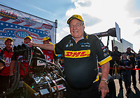 Sep 2, 2019; Clermont, IN, USA; NHRA top fuel team owner Connie Kalitta during the US Nationals at Lucas Oil Raceway. Mandatory Credit: Mark J. Rebilas-USA TODAY Sports