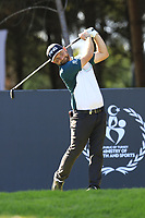 Andy Sullivan (ENG) tees off the 9th tee during Saturday's Round 3 of the 2018 Turkish Airlines Open hosted by Regnum Carya Golf &amp; Spa Resort, Antalya, Turkey. 3rd November 2018.<br /> Picture: Eoin Clarke | Golffile<br /> <br /> <br /> All photos usage must carry mandatory copyright credit (&copy; Golffile | Eoin Clarke)