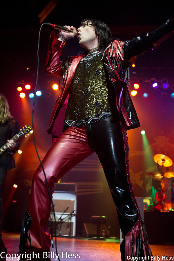 The Struts are an English rock band from Derby, Derbyshire, England. The band consists of vocalist Luke Spiller, guitarist Adam Slack, bassist Jed Elliott, and drummer Gethin Davies. Formed in 2009, the original lineup was composed of Spiller, Slack, bassist Jamie Binns and drummer Rafe Thomas. <br /> The band's influences include Queen, The Darkness, the Rolling Stones, Aerosmith, Def Leppard, The Killers, The Smiths, Oasis, The Libertines, The Strokes, and My Chemical Romance. The Struts have been described as &quot;unabashedly over the top retro-fetishist classic rock&quot; and &quot;glamorous and dangerous