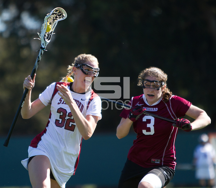 STANFORD, CA - February 27, 2011:  Emile Boeri during Stanford's 18-17 victory over Harvard at Stanford, California on February 27, 2011.