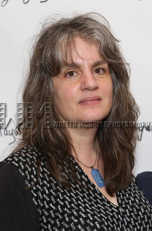 Pam MacKinnon attends the Opening Night Performance of the Playwrights Horizons world premiere production of 'Log Cabin' on June 25, 2018 at Playwrights Horizons in New York City.