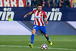 Nico Gaitan of Atletico de Madrid during the match of La Liga between Atletico de Madrid and Villarreal at Vicente Calderon  Stadium  in Madrid, Spain. April 25, 2017. (ALTERPHOTOS/Rodrigo Jimenez)