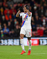 Patrick van Aanholt of Crystal Palace looks to the sky after scoring during AFC Bournemouth vs Crystal Palace, Premier League Football at the Vitality Stadium on 1st October 2018