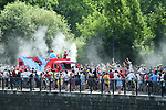 The publicity caravan during Stage 8 of the 104th edition of the Tour de France 2017, running 187.5km from Dole to Station des Rousses, France. 8th July 2017.<br /> Picture: ASO/Alex Broadway | Cyclefile<br /> <br /> <br /> All photos usage must carry mandatory copyright credit (&copy; Cyclefile | ASO/Alex Broadway)