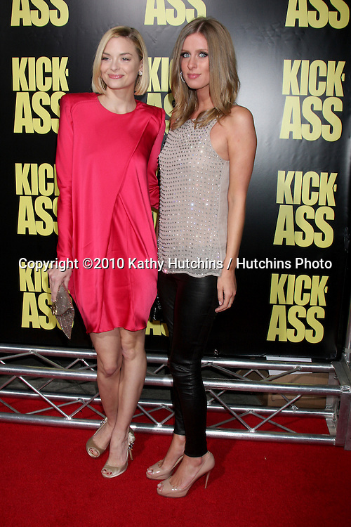 "Jamie King & Nicky Hilton.arrives at  the ""Kick-Ass"" Premiere.ArcLight Dome Theater.Los Angeles, CA.April 13, 2010.©2010 Kathy Hutchins / Hutchins Photo..."