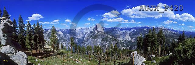 Dr. Xiong, LANDSCAPES, panoramic, photos, Yosemite Panorama, NP, USA(AUJXP420,#L#)