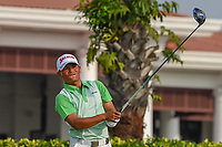 Hadi ABDUL (SIN) watches his tee shot on 12 during Rd 2 of the Asia-Pacific Amateur Championship, Sentosa Golf Club, Singapore. 10/5/2018.<br /> Picture: Golffile | Ken Murray<br /> <br /> <br /> All photo usage must carry mandatory copyright credit (© Golffile | Ken Murray)