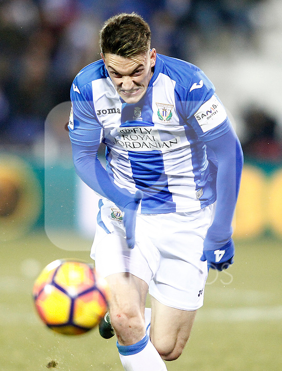CD Leganes' Adrian Marin during La Liga match. January 28,2017. (ALTERPHOTOS/Acero)