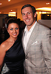 Angela Mecca and Owen Daniels at a fundraiser for Deck My Room at Tootsies Tuesday  Feb. 12, 2013.(Dave Rossman/ For the Chronicle)