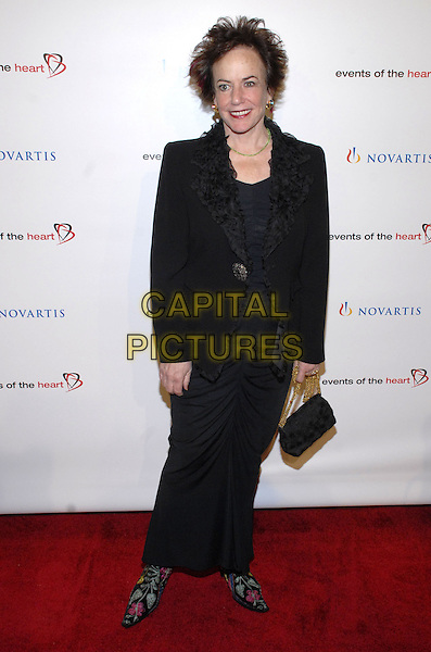 """FAITH POPCORN.Attending Events of the Heart, a non-profit organization co-founded by Pamela Serure and Carole Isenberg, holds its first annual fundraising gala entitled """"Heart On!"""" at Jazz at Lincoln Center, New York City, NY, USA, 1 October 2007.full length black dress.CAP/ADM/BL.©Bill Lyons/Admedia/Capital Pictures *** Local Caption ***"""