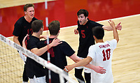 STANFORD, CA; January 2, 2018; Men's Volleyball, Stanford vs Calgary..