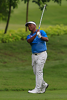 Antonio Lascuna (PHI) on the 10th during Round 3 of the CIMB Classic in the Kuala Lumpur Golf & Country Club on Saturday 1st November 2014.<br /> Picture:  Thos Caffrey / www.golffile.ie