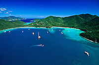 Maho and Francis Bay.Virgin Islands National Park.St. John.US Virgin Islands