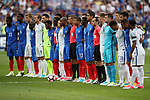 France's and England's players line up together during the Friendly match at Stade De France Stadium, Paris Picture date 13th June 2017. Picture credit should read: David Klein/Sportimage