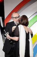 Director Alex de la Iglesia gives the 'Donostia' Award 2013 to actress Carmen Maura during the 61 San Sebastian Film Festival, in San Sebastian, Spain. September 22, 2013. (ALTERPHOTOS/Victor Blanco) /NortePhoto