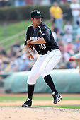 April 11, 2010:  Pitcher Dustin Molleken of the Altoona Curve during a game at Blair County Ballpark in Altoona, PA.  Altoona is the Double-A Eastern League affiliate of the Pittsburgh Pirates.  Photo By Mike Janes/Four Seam Images